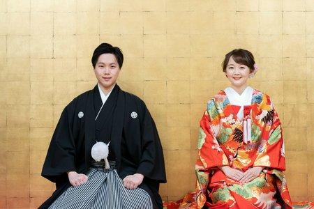 夢。京都(日本新娘和裝+白紗)海外婚紗