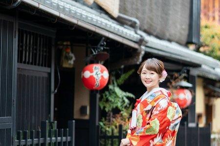 夢。京都(日本新嫁娘和裝單套)海外婚紗