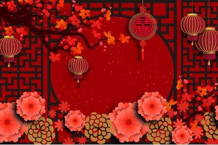 婚禮網站-東方古典風