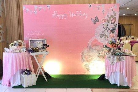 【主題拍照區】粉紅夢幻-幸福莊園