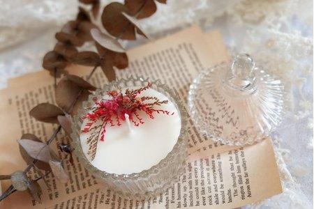 【婚禮小物】乾燥花香氛蠟燭