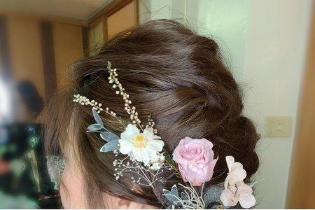 婚禮單妝髮-婕鑫