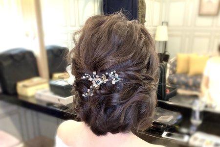 [婚禮現場]晚宴單妝髮