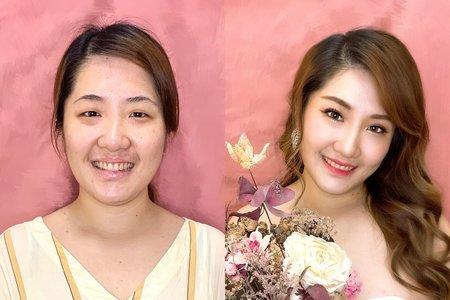 《作品》韓系新娘妝髮❣️