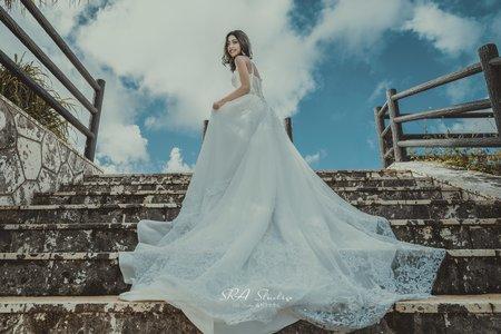 日本沖繩閨蜜婚紗+寫真