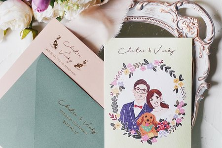 婚禮喜帖設計