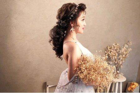 甜美妝髮~微拉絲網美風~韓妞來襲風
