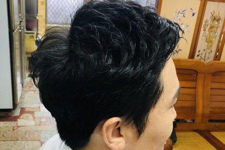 新郎與親友妝髮服務