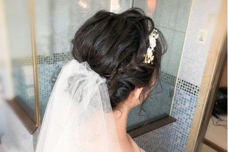 海軍新娘結婚單妝髮6600元