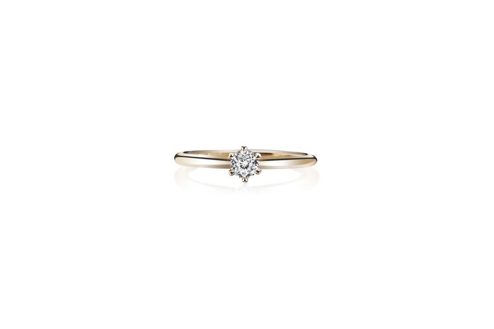 KR00427 - 台北輝記婚戒鑽石《結婚吧》