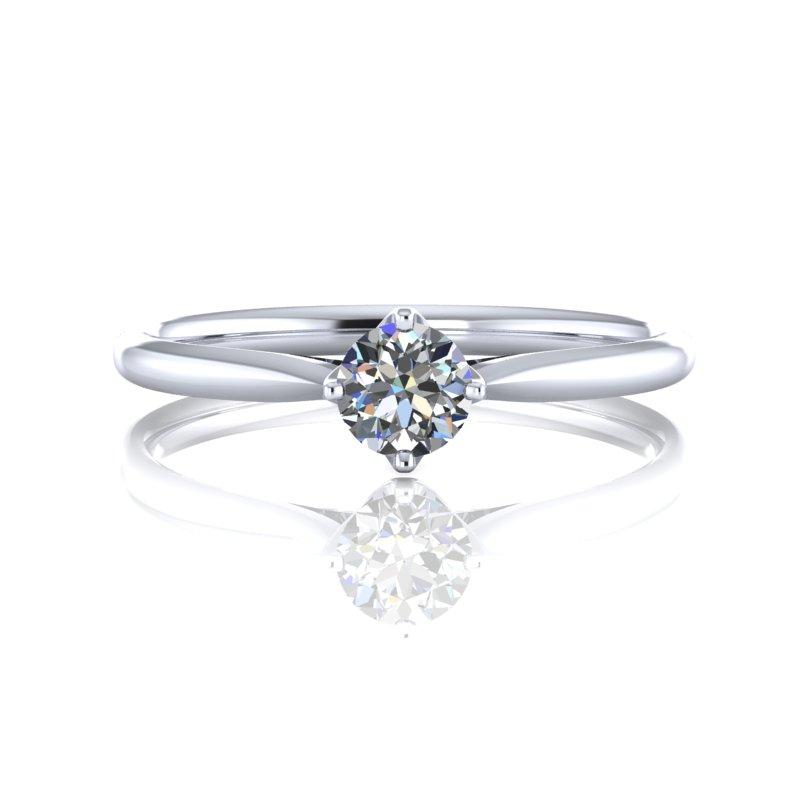 WR00974 - 台北輝記婚戒鑽石《結婚吧》