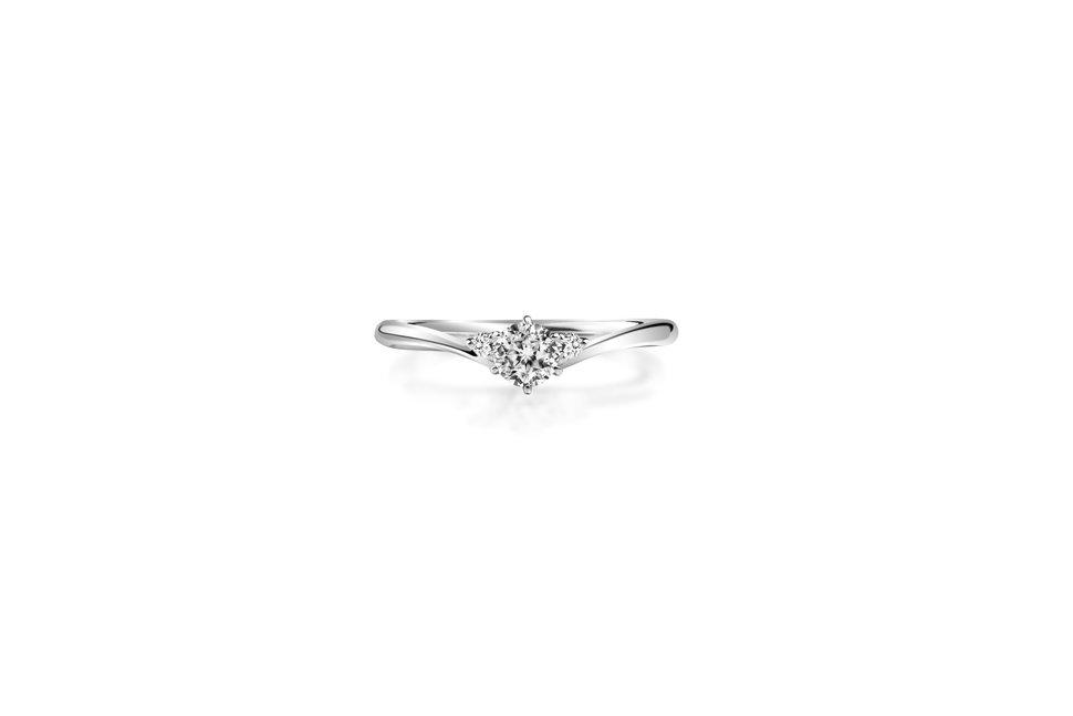 WR00810 - 台北輝記婚戒鑽石《結婚吧》
