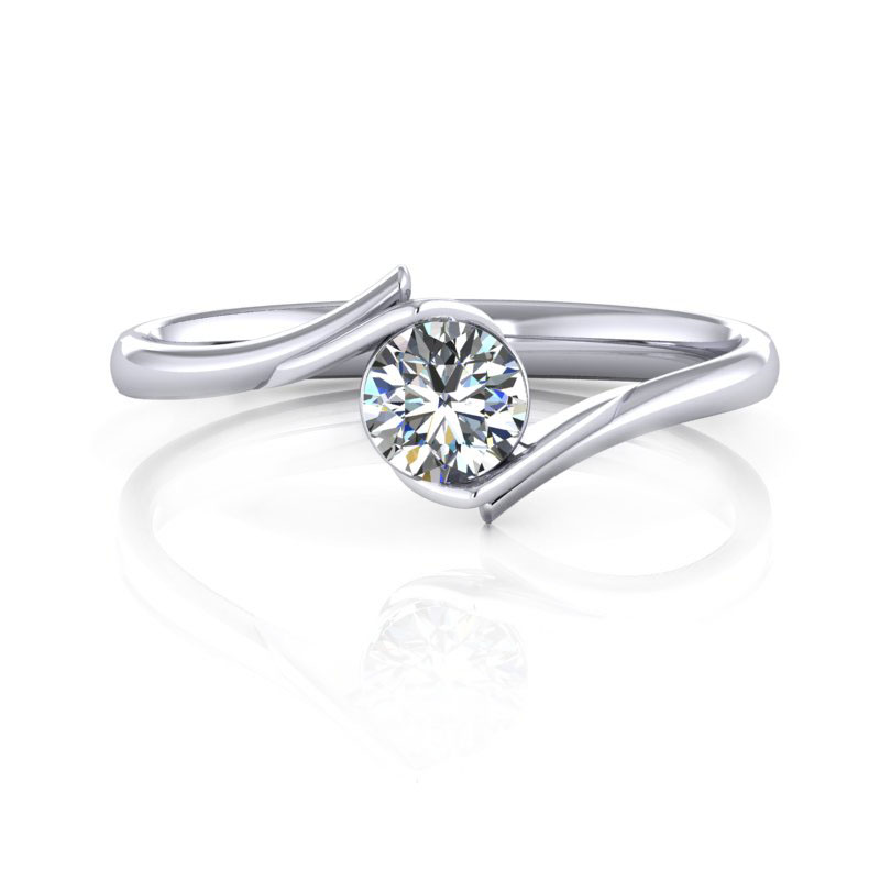8-8-WR00803-PT900-01 - 台北輝記婚戒鑽石《結婚吧》