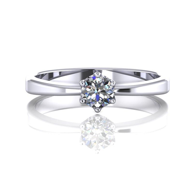 WR00928 - 台北輝記婚戒鑽石《結婚吧》