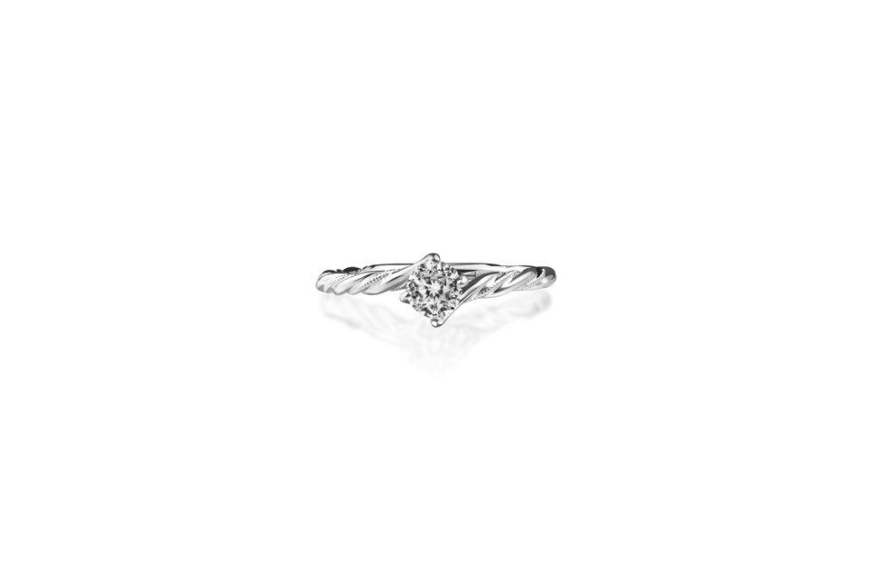 WR00980 - 台北輝記婚戒鑽石《結婚吧》