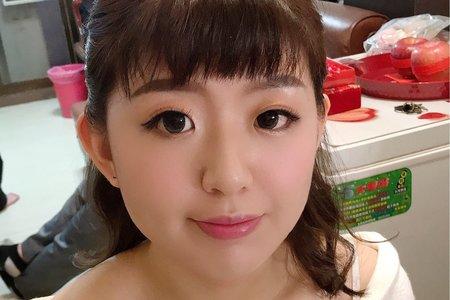 109、02/15親友妝髮