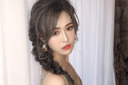 婚禮造型_浪漫公主編髮