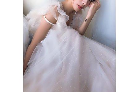 婚禮造型創作_小清新女孩