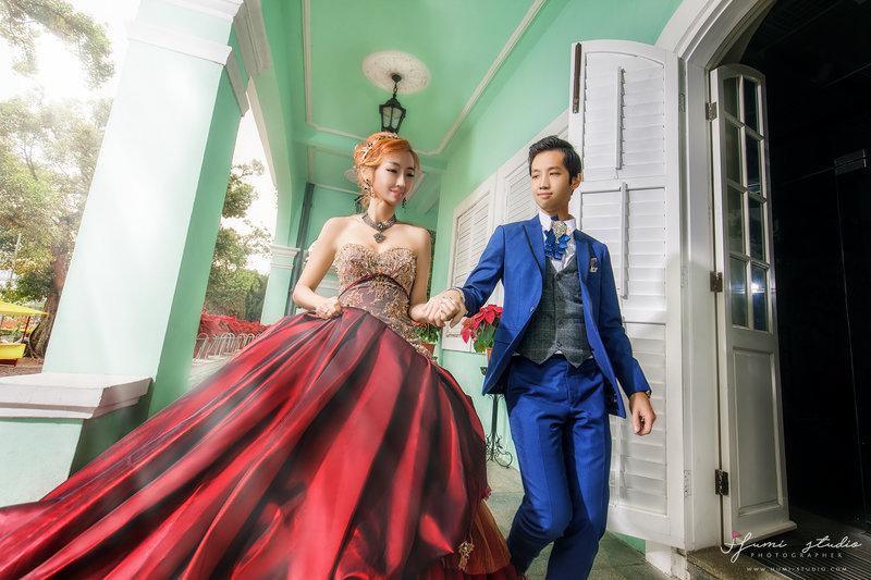 海外婚紗-澳門優惠方案作品