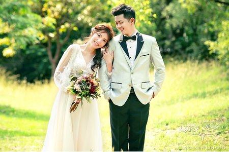 ღ台北藏愛婚紗ღ自然美式