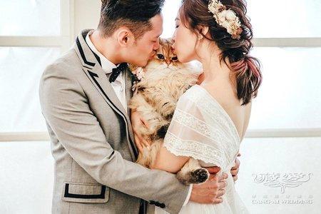 ღ台北藏愛婚紗ღ寵物婚紗