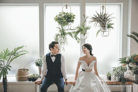客照|Cang-Ai Wedding|韓系風格
