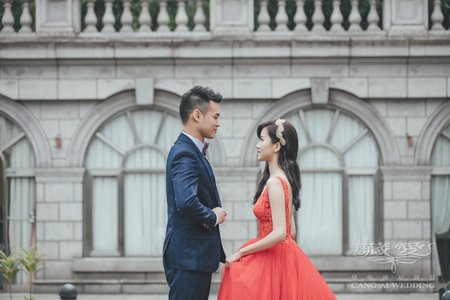 客照|Cang-Ai Wedding|歐式建築