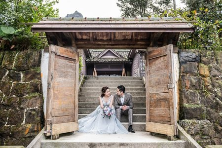 客照|Cang-Ai Wedding|日式建築