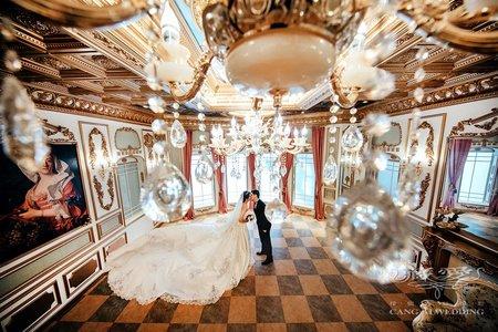 客照|Cang-Ai Wedding|法式風情