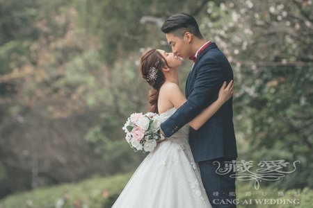 客照|Cang-Ai Wedding|春季日系