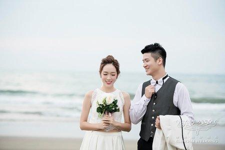 客照|Cang-Ai Wedding|愛延著海岸線