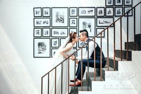 客照|Cang-Ai Wedding|INS感雜誌風