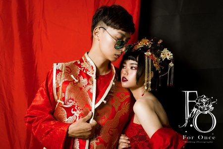 中式婚紗-Eason&Jyun