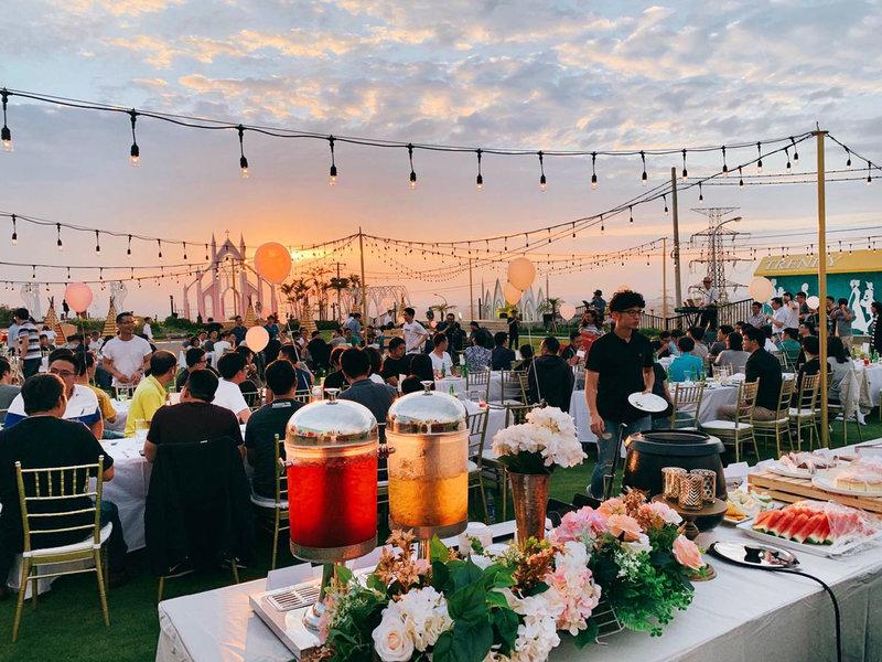 婚禮歐式自助餐方案作品