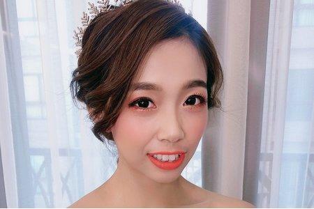 韓風白紗輕婚紗