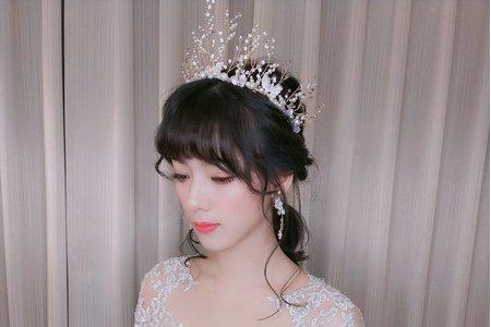 女神仙仙輕婚紗造型