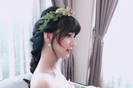 韓系森林輕婚紗花花系