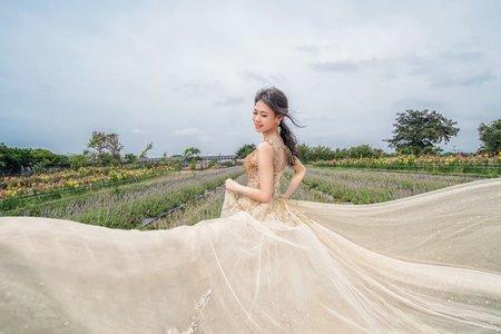 輕婚紗新娘外拍