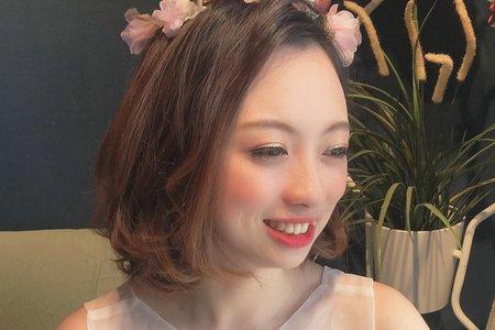 短髮造型-仙仙風