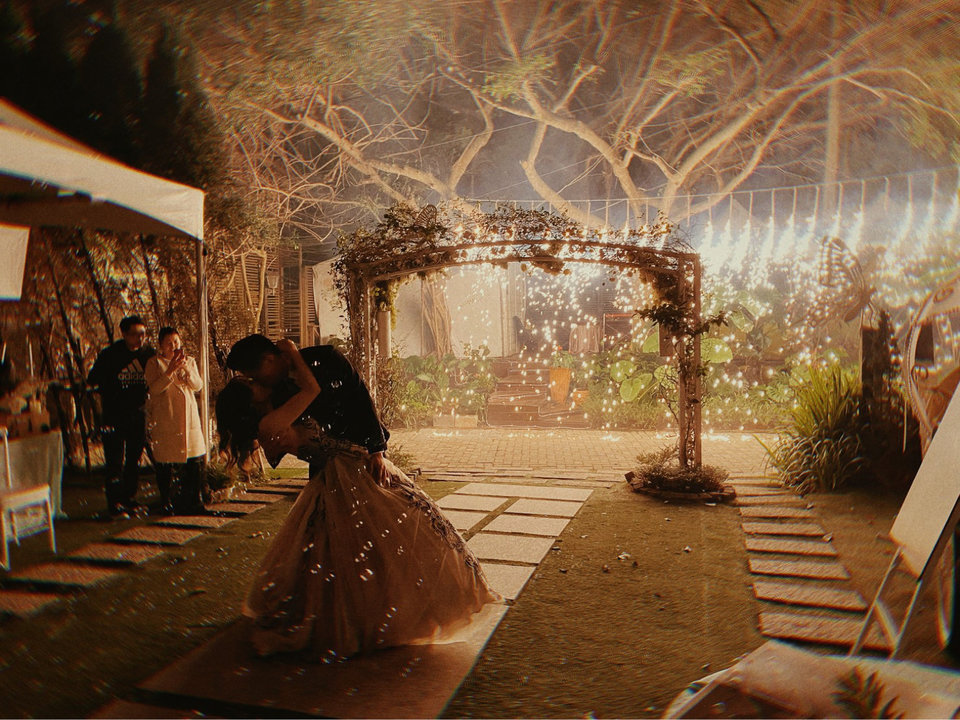 青青食尚花園會館,這是場真正有價值的婚禮