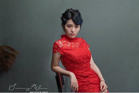 中式古典婚紗