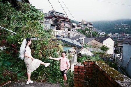 【九份婚紗】- 底片故事攝影
