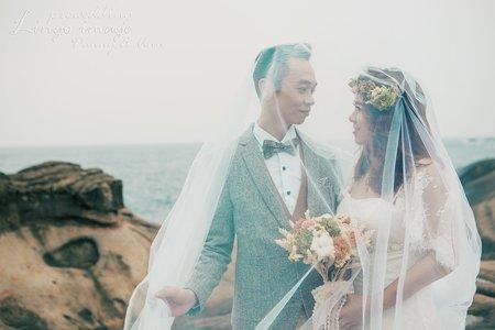 【岩岸婚紗】拍出美美氣勢滂礡感
