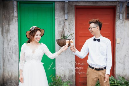 【台北婚紗】與你漫遊在台北-101&眷村