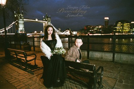 【時尚倫敦婚紗】倫敦鐵橋般的堅固愛情