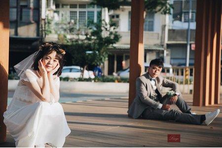 【生活感婚紗】悠哉的公園小巷
