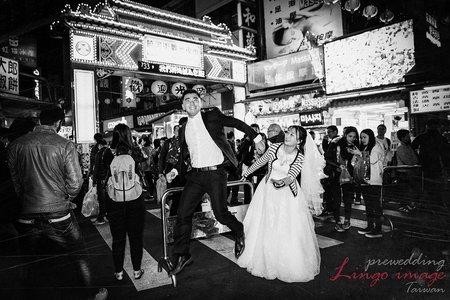 【台灣旅拍婚紗】-夜市拍出浪漫氣息,超道地