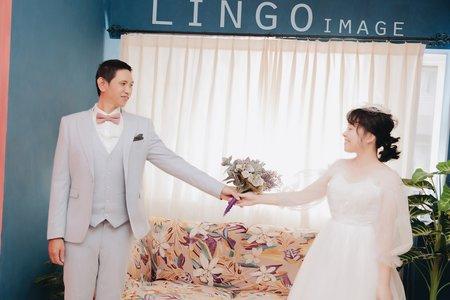 【韓式婚紗】巨星級棚拍。婚紗Ι輕婚紗
