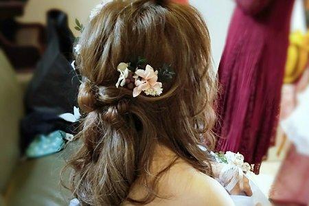 Shan|髮型|公主頭、側邊造型