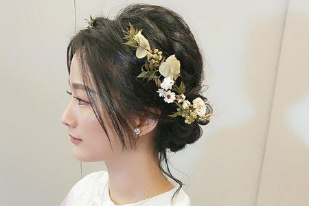 Shan|髮型|盤髮